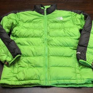 The North Face puffer jacket or liner.  Boys XL